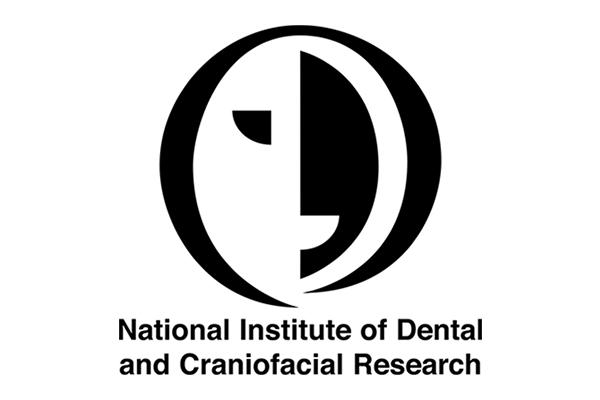 NIDCR black and white logo