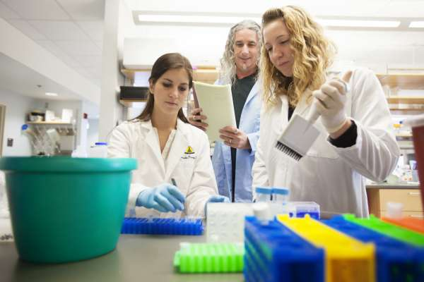 Group of Women in a Lab